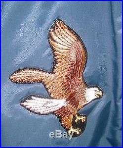 Vintage Usaf Flight Jacket Us Air Force Timber King Military Bomber Coat Ca USA