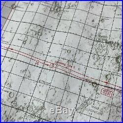 VTG Apollo 11 Lunar Orbit Chart ALO July 21 1969 Launch Edition 1 NASA Air Force