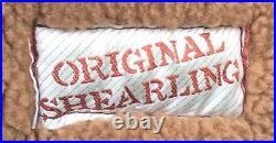 VTG USAF B-3 Style Original Shearling Sheepskin Flight Jacket