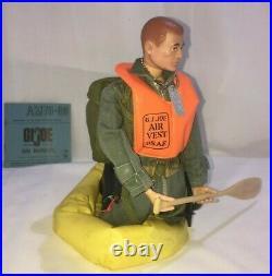 V. W. S. Gi Joe Early Original Vintage (tm) Action Figure Usaf Scramble Pilot