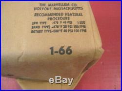 Vietnam Era USAF Pilot's Type A-8B Oxygen Mask & Hose Dated 1966 Unissued