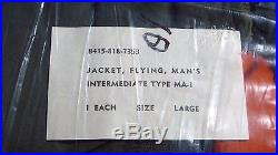 Vietnam USAF US Air Force MA-1 Flight Jacket NEW UNOPENED LARGE