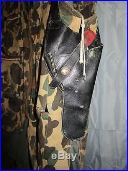 Vietnam War Rare Usaf L-19 Bird Dog Pilot Named Grouping Beret Patch Camo Vest