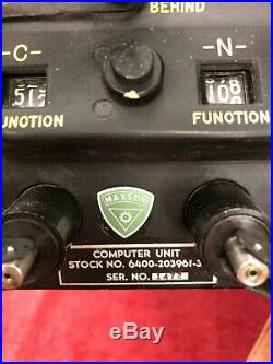 Vintage Electro-mechanical Nuclear Bomb Computer Us Army/air Force B-52 B-36