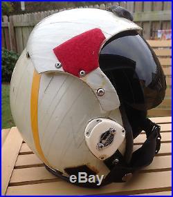 Vintage Gentex Flight Helmet HGU-33/P Navy USAF Camo cover