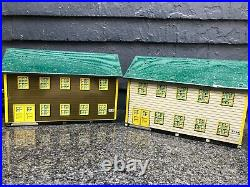 Vintage Marx Army/ Air Force Training Center Playset Buildings lot of 3