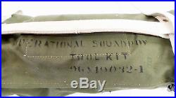 Vintage NOS Aircraft Squadron Tool Kit 96X19032 Airplane USAF Military Wrench