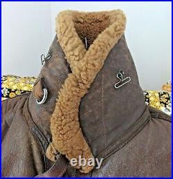 Vintage Original RAF Sheepskin and Leather Flying Jacket