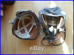 Vintage Pilots RAF 1960s British Flying Helmet Finnish airforce used