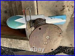 Vintage Rocket plane USAF Saddle Mates Spring Playground Ride Toy Equipment