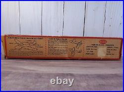 Vintage Testors Go-Hi Airplane Kit Balsa Wood USAF Glider Wingspan Plane Model