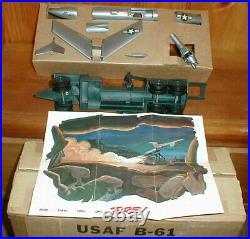 Vintage Topping USAF Martin B-61 Matador Missile Desk Model MIB Box & Pamphlet