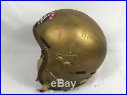Vintage US Air Force Auxiliary Civil Air Patrol Pilots Flight Helmet