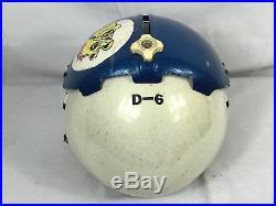 Vintage US Air Force Pilots Gentex Flight Helmet