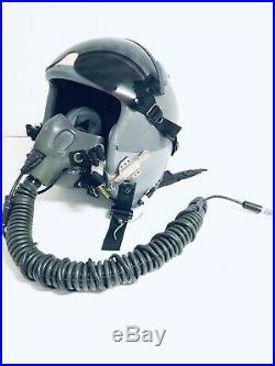 Vintage US Air Force USAF Pilot 1950's-1970s Fighter Flying Helmet USA
