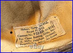 Vintage US Army Air Force Anti Flak Helmet