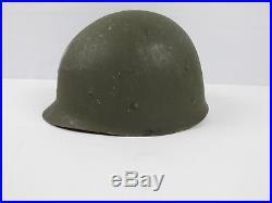 Vintage US Army Air Force Military M1 Helmet Liner World War II Vietnam RARE