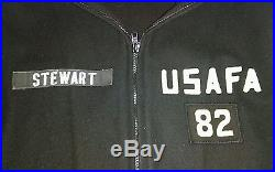 Vintage United states Air Force Academy cadet parka-wool-class of 82'-small