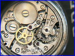 Vintage WW2 1942 US Airforce Bulova men's watch, Type A-11, Hack seconds