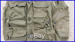 Vintage WWII US Air Force Pilot Survival Vest Emergency Sustenance Type C-1 USAF