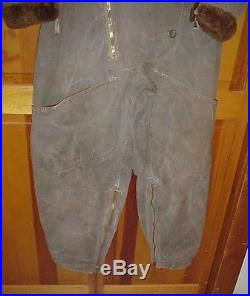 Vintage WWII WW2 British RAF Royal Air Force 1941Pattern Sidcot Flying Suit IDd