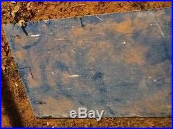 Vintage us Air Force sign. 3' x 4'. Reflective aluminum sign. USAF