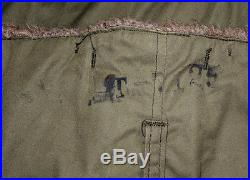 Vtg WWII A-9 Alpaca Lined Flight Pants sz 36 US Army Air Force Military NICE