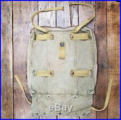 Vtg WWII Parachute Survival Kit B-4 Bag AAF Army Air Force Pilot Paratrooper WW2