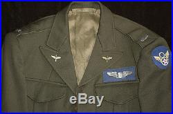 WW2 8TH AIR FORCE NAMED BRIT-MADE UNIFORM -305th BOMB GROUP