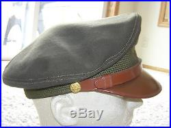 Ww2 Aaf Army Air Force Officers Chocolate Crusher Pilot Hat Air War Made By Knox