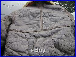 Ww2 Air Force Bomber Jacket B-3 Leather Bomber Jacket Authentic
