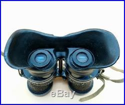 WW2 British RAF Royal Air Force Ross MK 4 Observers Binoculars U-Boat & Aircraft