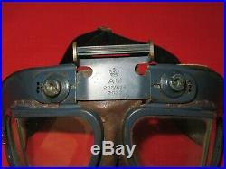 WW2 British Royal Air Force RAF Mk VII AM 22C/826 Pilots Flying Goggles Named