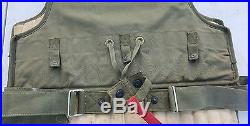 WW2 M1/M2 USAF Pilots Flyers Armored Flak Vest WWII Air Force