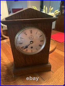 WW2 Oak RAF Station clock. Stamped T. W. Elliott. 1938. A Nice Early Example