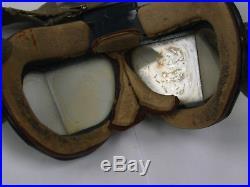 WW2 Original RAF Royal Air Force flying goggles MK VII very rare goggles A/F
