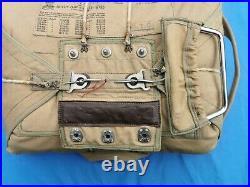 WW2 RAF/RCAF observer parachute pack
