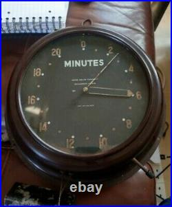 WW2 Raf Air Ministry Photographic Department Clock