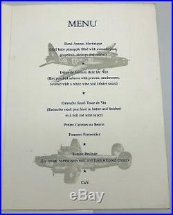 WW2 Royal Air Force Bomber Command Reunion Dinner Service Great Escape Interest