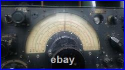 WW2 Royal Air Force Lancaster Bomber communications receiver model R1155