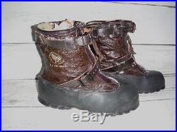 WW2 Type A-1 Winter Flying Pilots Boots, Bristolite, US Air Forces, L