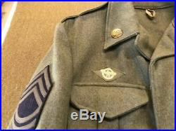 WW2 USAAF TSgt 5th Air Force Uniform Group With Aussie Made Jacket-Complete