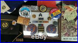 WW2 US Air Corps 15th Airforce 483rd Bomb Group Air Medal Air Crew Grouping
