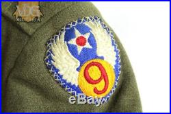 WW2 US Army 9th Air Force Grouping with Extras Named to Lane