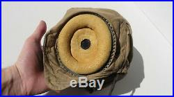 WW2 US Army Air Force Military AN-H-15 Flight Helmet LARGE Wired