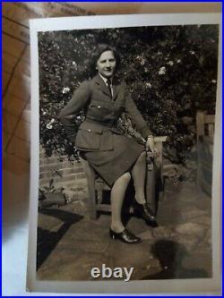 WW2 WAAF RAF Uniform Original 1945 and diary