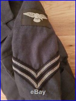 WW2 WAAF RAF Womens Air Force Corporal Tunic 1942