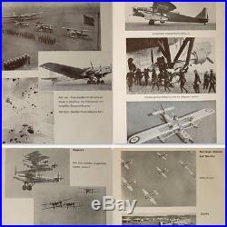 WW2 Yearbook 1937 about German Luftwaffe, Air Force, Aviation Wehrmacht Berlin