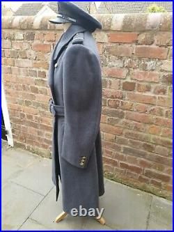 WW2 era Royal Air Force Officer's Great Coat RAF greatcoat Wing Commander rank