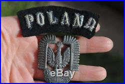WW2 polish air force badges